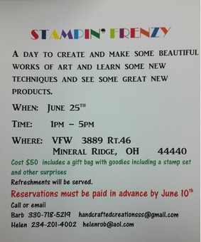 Stampin Frenzy