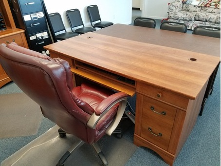 Executive office desk chair